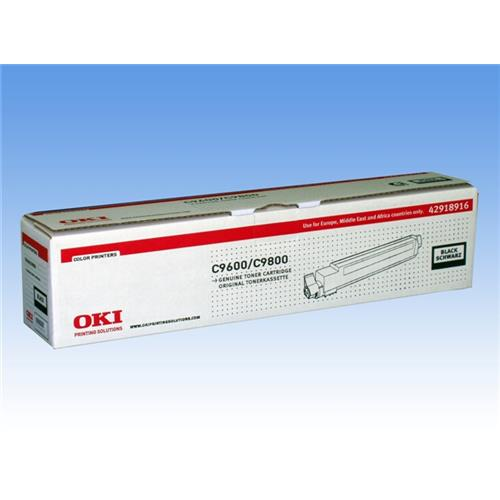 Foto OKI 42918916 Toner Originale nero Laser