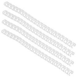 GBC Wire Binding Elements 34 Loop for 115 Sheets 12.5mm White A4 Ref RG810870 (100 Pack)
