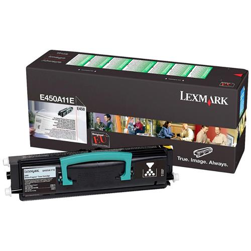 Foto Lexmark E450A11E Toner Originale nero Laser