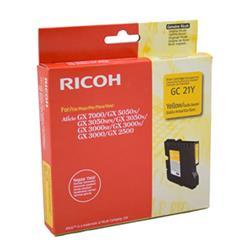 Originale Ricoh stampanti, fax e copiatrici - Gel Type GC21Y - 405535 - giallo - K202/G