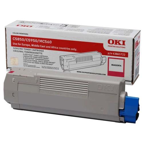 Foto OKI 43865722 Toner Originale magenta Laser