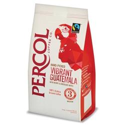 Percol Fairtrade Guatemala Ground Coffee Medium Roasted 200g Ref 0403272