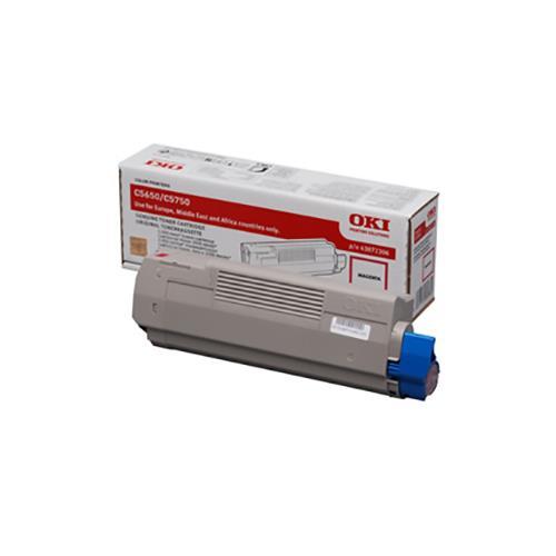 Foto OKI 43872306 Toner Originale magenta Laser