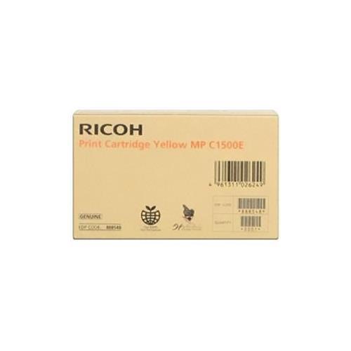 Foto Ricoh MPC1500E (K199/G) Cartuccia Originale giallo K199/G Laser