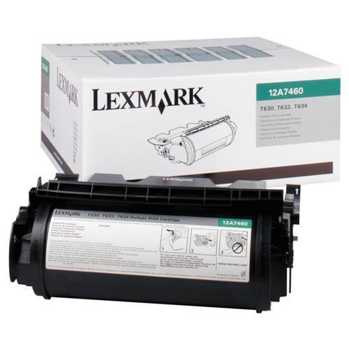Foto Lexmark 12A7460 Toner Originale nero Laser