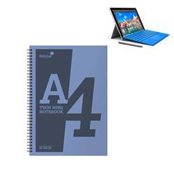 Silvine Notebook Wirebound Polypropylene 60gsm 160pp A4 Assorted Ref POLYA4AC [Pack 5] - Prize Draw