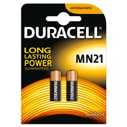Pile Duracell Specialistiche - MN21 - conf. 2