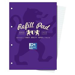 Campus Refill Pad Laminated Card Cover Headbound 120 Pages 90gsm A4 Ref 400013925 [Pack 5] - 3 for 2
