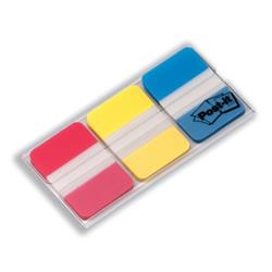 Post it Index Strong 25mm Assorted Red Yellow and Blue Ref 686-RYB - Pack 66 - 3 for 2