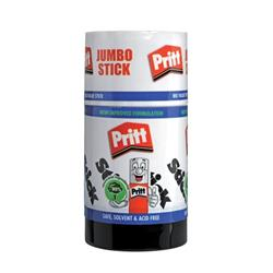 Pritt Stick Glue Solid Washable Non-toxic Jumbo 95g Ref 45552966 - Pack 6 - 3 for 2