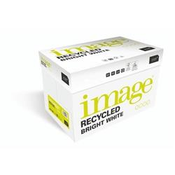 Image Recycled Bright White 100%Recycled A4 210X297mm 80Gm2 Ref 69060 [Pack 2500]