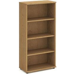 Impulse 1600 Bookcase Oak - I000759