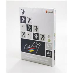 Color Copy Paper Coated Glossy White FSC4 A3 297x420mm 170Gm2 Ref 24876 [Pack 250]