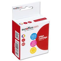 Euroffice Compatible Inkjet Cartridge Page Life 349pp Tri-Colour [Canon CL-513 Equivalent]