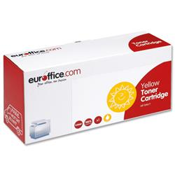 Euroffice Compatible Laser Toner Cartridge Page Life 2000pp Yellow [HP No. 124A Q6002A Equivalent]