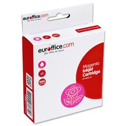 Euroffice Compatible Inkjet Cartridge Page Life 1400pp Magenta [HP No. 940XL C4908AE Equivalent]
