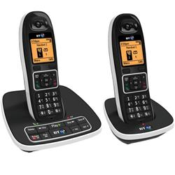 BT 7600 Twin Handset DECT Telephone with Answering Machine - 66870