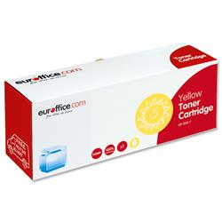 Euroffice Compatible Laser Toner Cartridge Page Life 1400pp Yellow [HP No. 125A CB542A Equivalent]