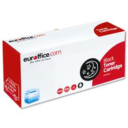 Euroffice Compatible Laser Toner Cartridge Page Life 3000pp Black [HP No. 53A Q7553A Equivalent]