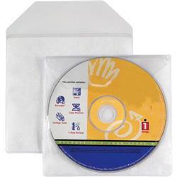 Buste porta CD/DVD Favorit - con patella di chiusura - conf. 25