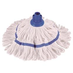 Robert Scott & Sons Hygiemix T1 Socket Mop Cotton & Synthetic Yarn Colour-coded 200g Blue Ref 103062BLUE