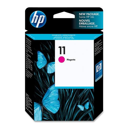 Foto HP 11 Cartuccia Originale magenta C4837A Inkjet