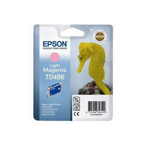 Foto Epson T0486 Cartuccia Originale magenta chiaro C13T04864010 Inkjet