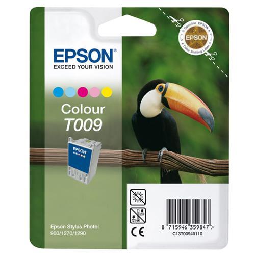 Foto Epson T009 Cartuccia Originale 5 colori C13T00940110 Inkjet