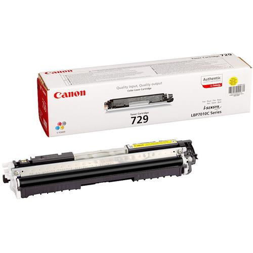 Foto Originale Canon 4367B002 - Toner 729 Y - Giallo Laser