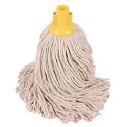 Robert Scott & Sons Socket Mop for Smooth Surfaces PY 16oz Yellow Ref 101876YELLOW [Pack 10]
