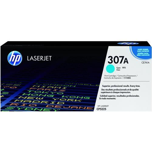Foto HP CE741A Toner Originale ciano Laser