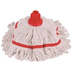 Robert Scott & Sons Hygiemix T1 Socket Mop Cotton & Synthetic Yarn Colour-coded 250g Red Ref YLTR250