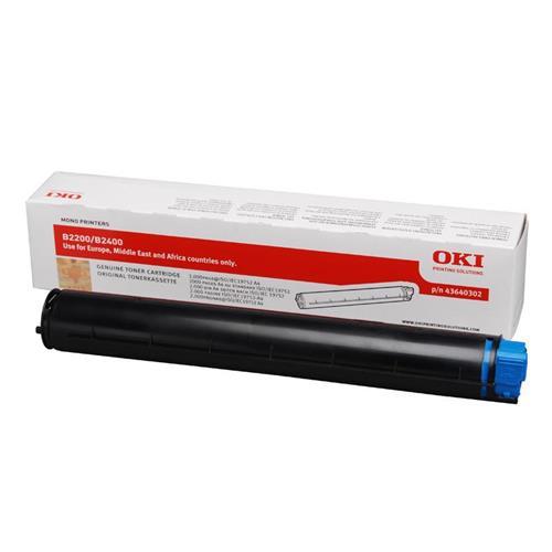 Foto OKI 43640302 Toner Originale nero Laser