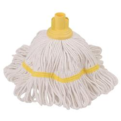 Robert Scott & Sons Hygiemix T1 Socket Mop Cotton & Synthetic Yarn Colour-coded 250g Yellow Ref 103064YELLOW