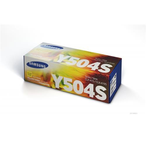 Foto Samsung CLT-Y504S/ELS Toner Originale giallo Laser