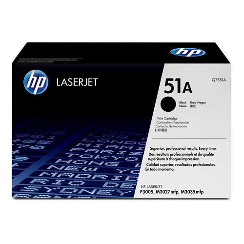 Foto HP 51A Toner Originale nero Q7551A Laser