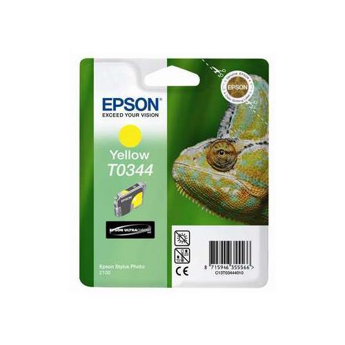 Foto Epson T0344 Cartuccia Originale giallo C13T03444010 Inkjet