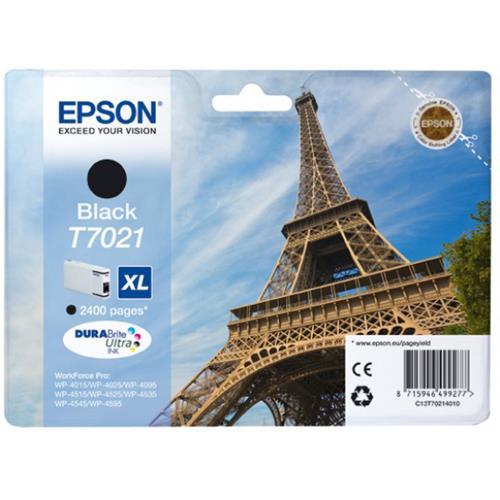 Foto Epson C13T70214010 Cartuccia Originale nero Inkjet