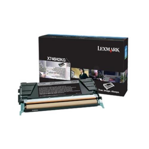 Foto Cartuccia nero Lexmark X746H3KG Laser