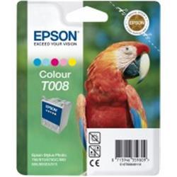 Foto Epson T008 Cartuccia Originale 5 colori C13T00840110 Inkjet