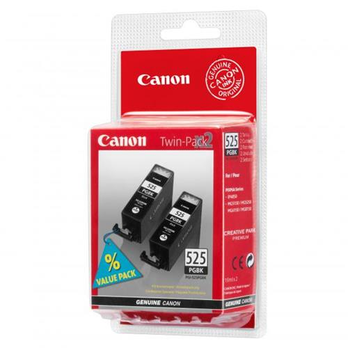Foto Orig Canon 4529B010-2pz serbatoi ink Chromalife100 PGI-525PGBK-Nero Inkjet