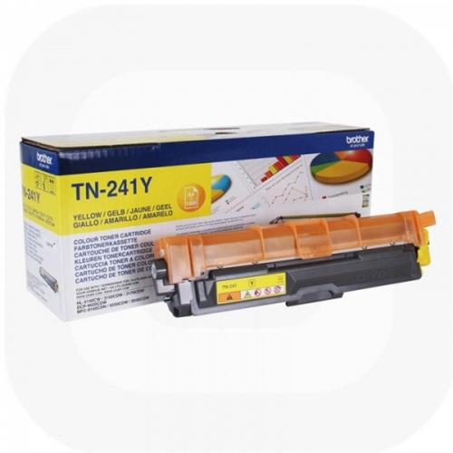 Foto Brother TN-241Y Toner Originale giallo Laser