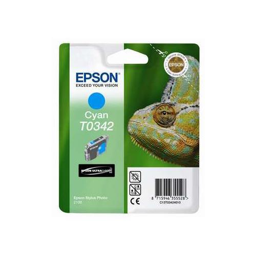 Foto Epson T0342 Cartuccia Originale ciano C13T03424010 Inkjet