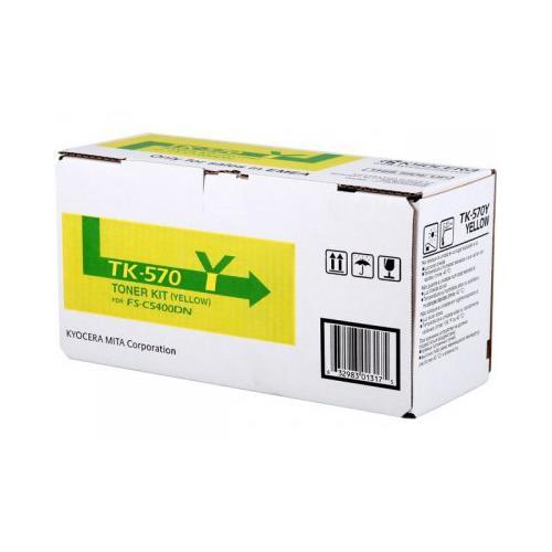 Foto Originale Kyocera 1T02HGAEU0 Toner TK-570Y giallo Laser