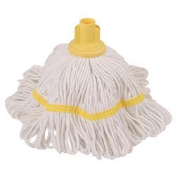 Robert Scott & Sons Hygiemix T1 Socket Mop Cotton & Synthetic Yarn Colour-coded 250g Yellow Ref 103064YELLOW
