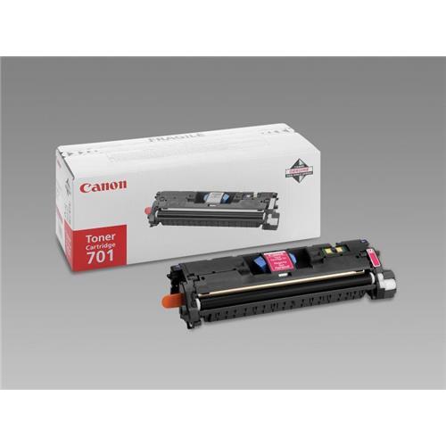 Foto Canon 701M Toner Originale magenta 9285A003 Laser