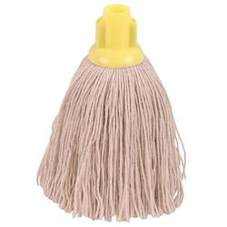 Robert Scott & Sons Socket Mop Twine for Rough Surfaces 12oz Yellow Ref 101852YELLOW [Pack 10]