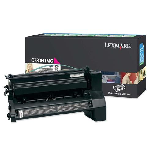 Foto Lexmark C780H1MG Toner Originale magenta Laser