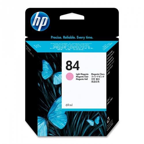 Foto HP 84 Cartuccia Originale magenta chiaro C5018A Inkjet