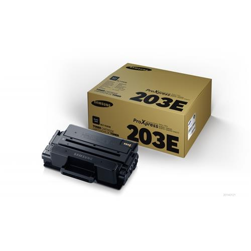 Foto Samsung MLT-D203E/ELS Toner Originale ciano chiaro Laser